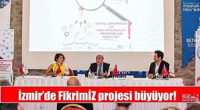 İzmir'de FikrimİZ projesi büyüyor