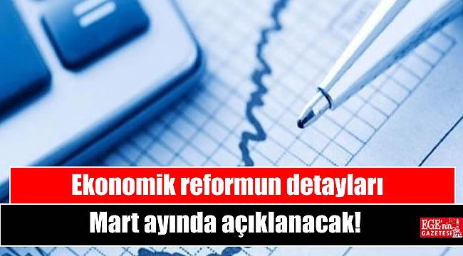 Ekonomik reformun detayları Mart ayında açıklanacak