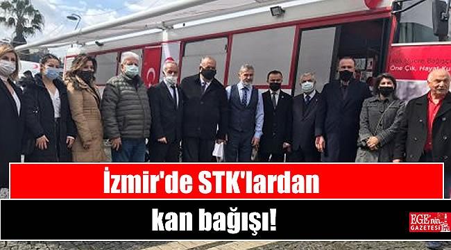 İzmir'de STK'lardan kan bağışı