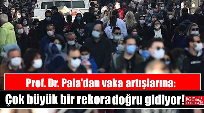 Prof. Dr. Pala'dan vaka artışlarına: Çok büyük bir rekora doğru gidiyor