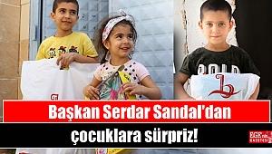 Başkan Serdar Sandal'dan çocuklara sürpriz