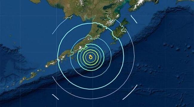 ABD'nin Alaska eyaletinde 8.2 büyüklüğünde bir deprem meydana geldi, tsunami alarmı verildi