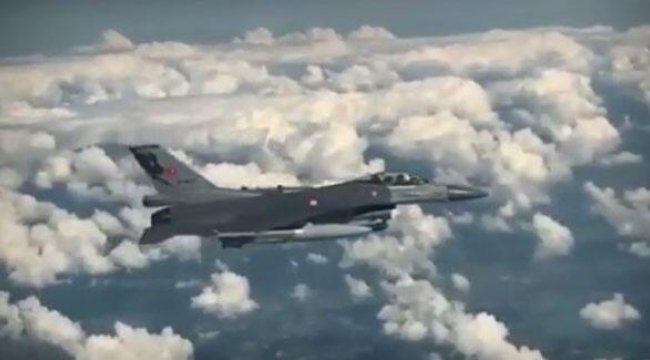 MSB o anları paylaştı, Türk jetleri havalandı: Görevlere daima hazır