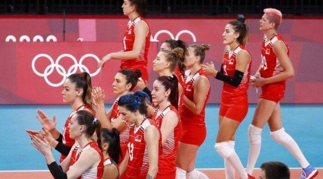 A Milli Kadın Voleybol Takımı, Olimpiyatlar'a veda etti: