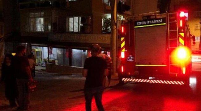 İzmir'de depoda patlama ve ardından çıkan yangında 4 kişi yaralandı