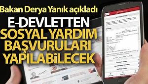 Bakan Derya Yanık'tan sosyal yardım başvuruları açıklaması!